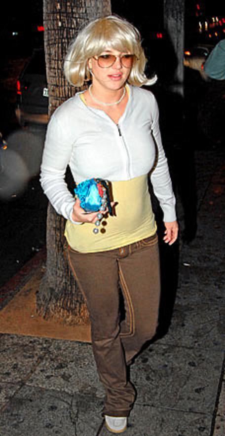Britney wigtastic
